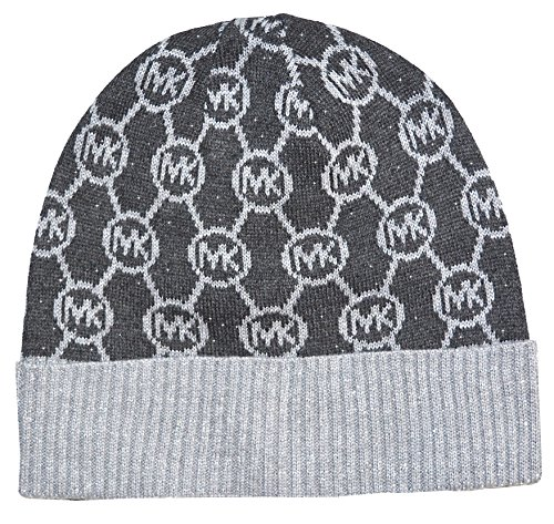 Michael Kors Logo Beanie Dazzling Knit Cuff Hat Derby at Amazon Womens Clothing store: