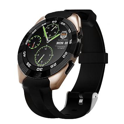 Kivors G5 Reloj Inteligente Bluetooth 4,0 con Monitor de Frecuencia Cardíaca Fitness Tracker Sincronización