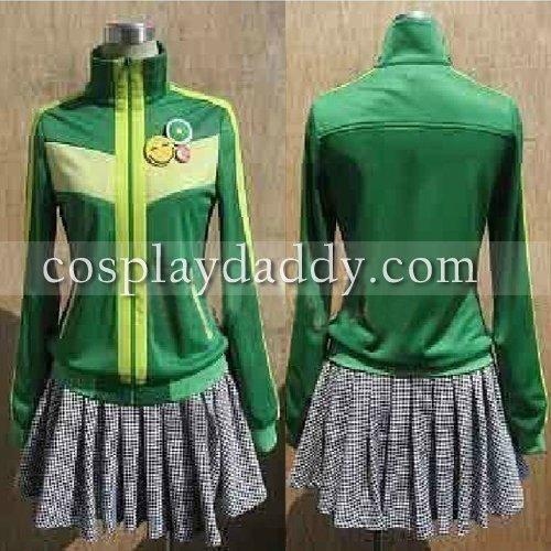 Shin Megami Tensei Persona 4 Chie Satonaka Cosplay Costume