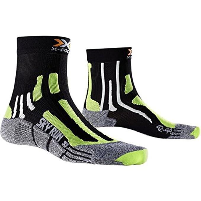 X de manga corta para hombre calcetines de color blanco de detalle de v2 40 Sky Run calcetines deportivos para mujer accesorios marca cómodo: Amazon.es: ...