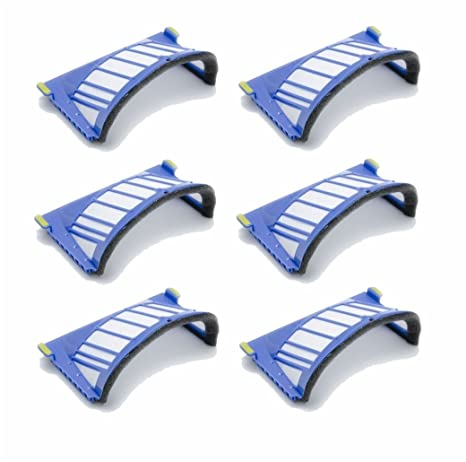 Kit 6 filtros AeroVac Pet para iRobot Roomba 660 Serie 661 662 663 664 665 666