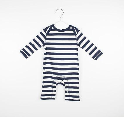 Pelele Pijama Bebé de Rayas