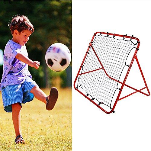 YAONIEO Soccer Goal Adjustable Football Kick-back Rebounder Practice Training Net (Soccer Kick Rebounder)