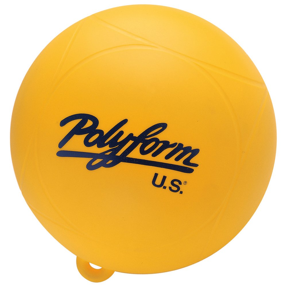 WS1-YELLOW Poly Waterski Buoy Yellow United Sporting Company 36837