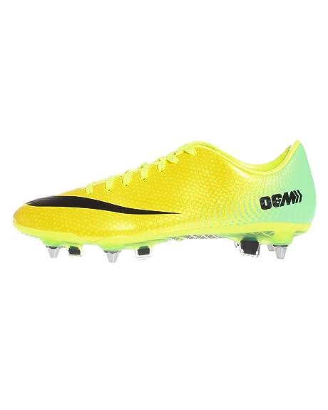 save off 29a6e 4f075 Nike, Scarpe da Calcio Uomo Vibrant Yellow Black Neo Lime Metallic Silver 7  UK  41 EU  8 US Amazon.it Sport e tempo libero