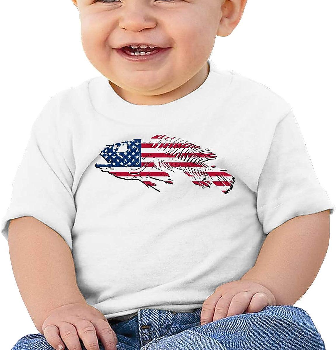 FOECBIR Tacosaurus Taco Dinosaur Child 100/% Cotton Short Sleeve T-Shirts for Baby Girls