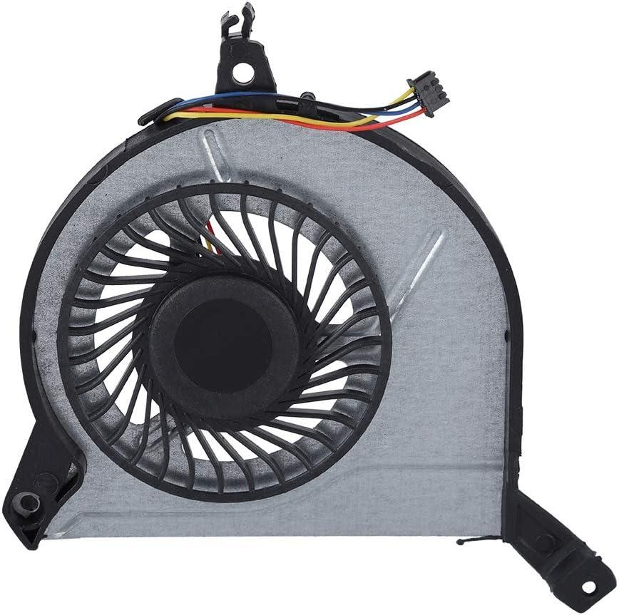 Bewinner CPU Cooling Fan para HP 15-V 15-P 14-V 767712-001 4Pin Cooling Fan Cooler para Laptop DC 5v Reemplazo del Ventilador de refrigeración Interno Ventilador defectuoso, Roto o Roto