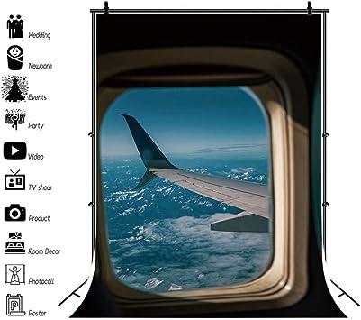 Amazon Com Dashan 6x8ft Airplane Window View Backdrop Aircraft