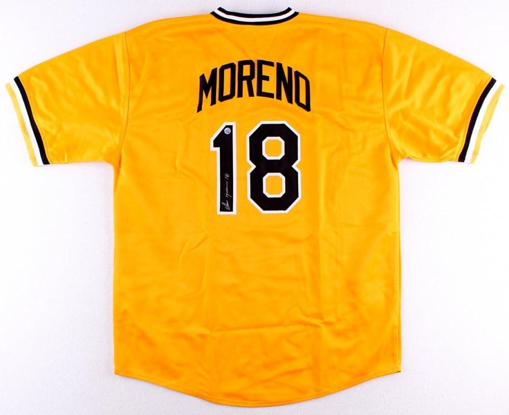 Omar Moreno Signed Pittsburgh Pirates Jersey (TSE COA) at Amazon's ...