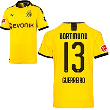 Puma Borussia Dortmund BVB Heimtrikot 201920 Home Trikot Sponsor BL Logo Herren Kinder Spieler Name gelb