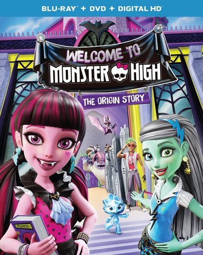 Monster High: Welcome to Monster High [Blu-ray]