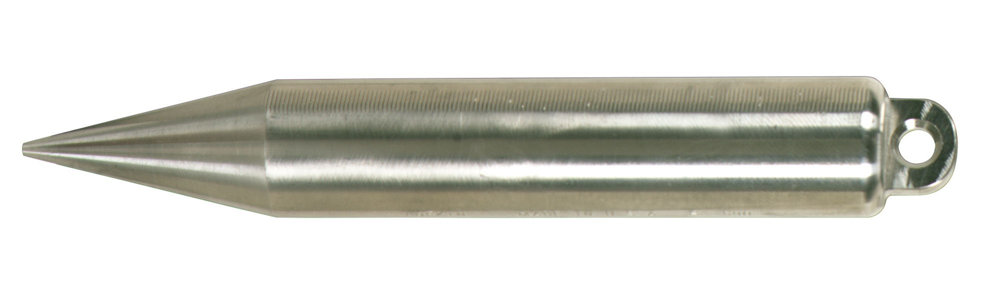 Lufkin S590 20-Ounce Stainless Steel Cylindrical Shape Plumb Bob by Apex Tool Group