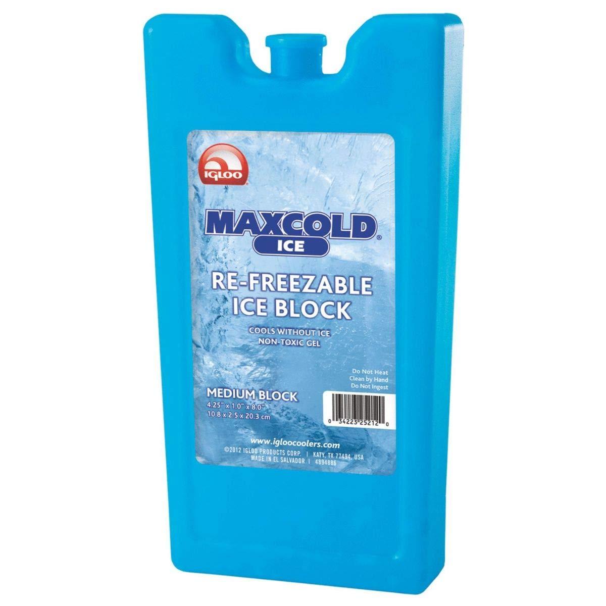 Amazon.com: Igloo Maxcold bloque de hielo mediano, el ...