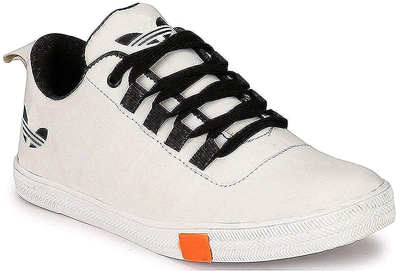 White Sneaker Shoes for Boys/Men