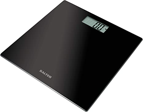 Measure Body Weight Digital Compact Electronic Bathroom Scale Toughened Glass