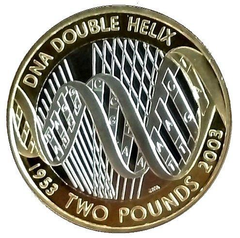Uk Delightech Unberührter Brilliant 2003 Dna Doppelhelix 2 Zwei