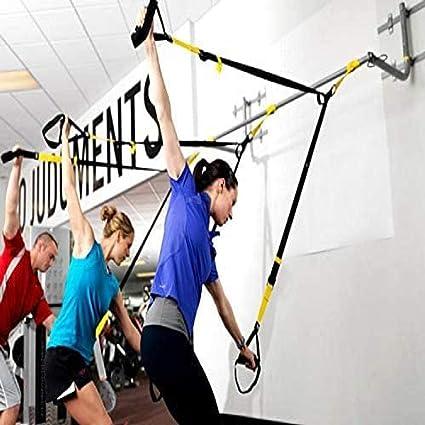 HQXJ Fitness Deportivo Resistencia Banda Traje Fitness Tirón Cuerda Suspensión Tirón Cinturón Entrenamiento Cinturón Resistencia Banda Tirador ...