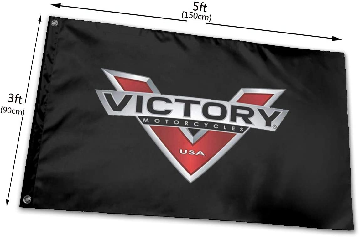 Christmas Garden Sign 3x5 Feet Victory Motorcycles Vivid Color and UV Fade Resistant