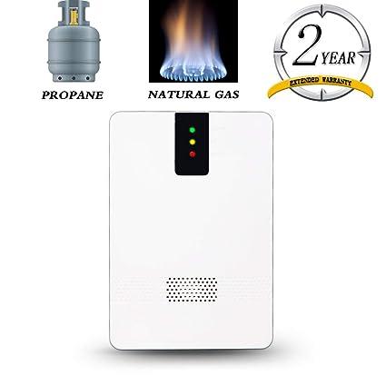 Natural Gas Detector, Methane Propane LPG LNG Gas Leak Alarm Home  Combustible Gas Alarm