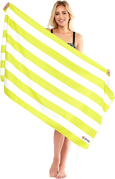 Washcloth Shower Towel Swimwear Beach Microfiber Bath Sport Camping Quick Drying