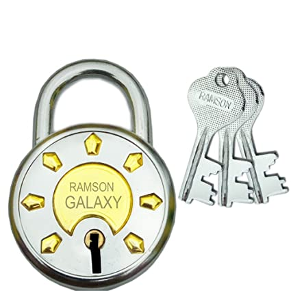 Ramson Galaxy 6 Levers Double Locking 3 Keys Lock