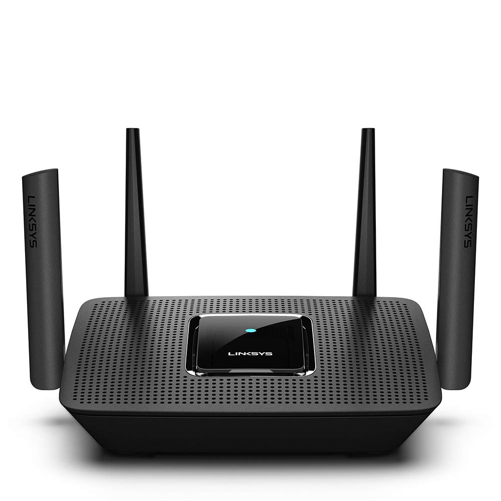 Linksys Tri-Band Mesh Wifi Router for Home (Max-Stream AC2200 MU-Mimo Wireless Mesh Router, Fast Wireless Router) by Linksys