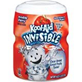 Kool-Aid Flavored Drink Mix, Sugar Sweetened Cherry, 19 Ounce Container (Pack of 6)
