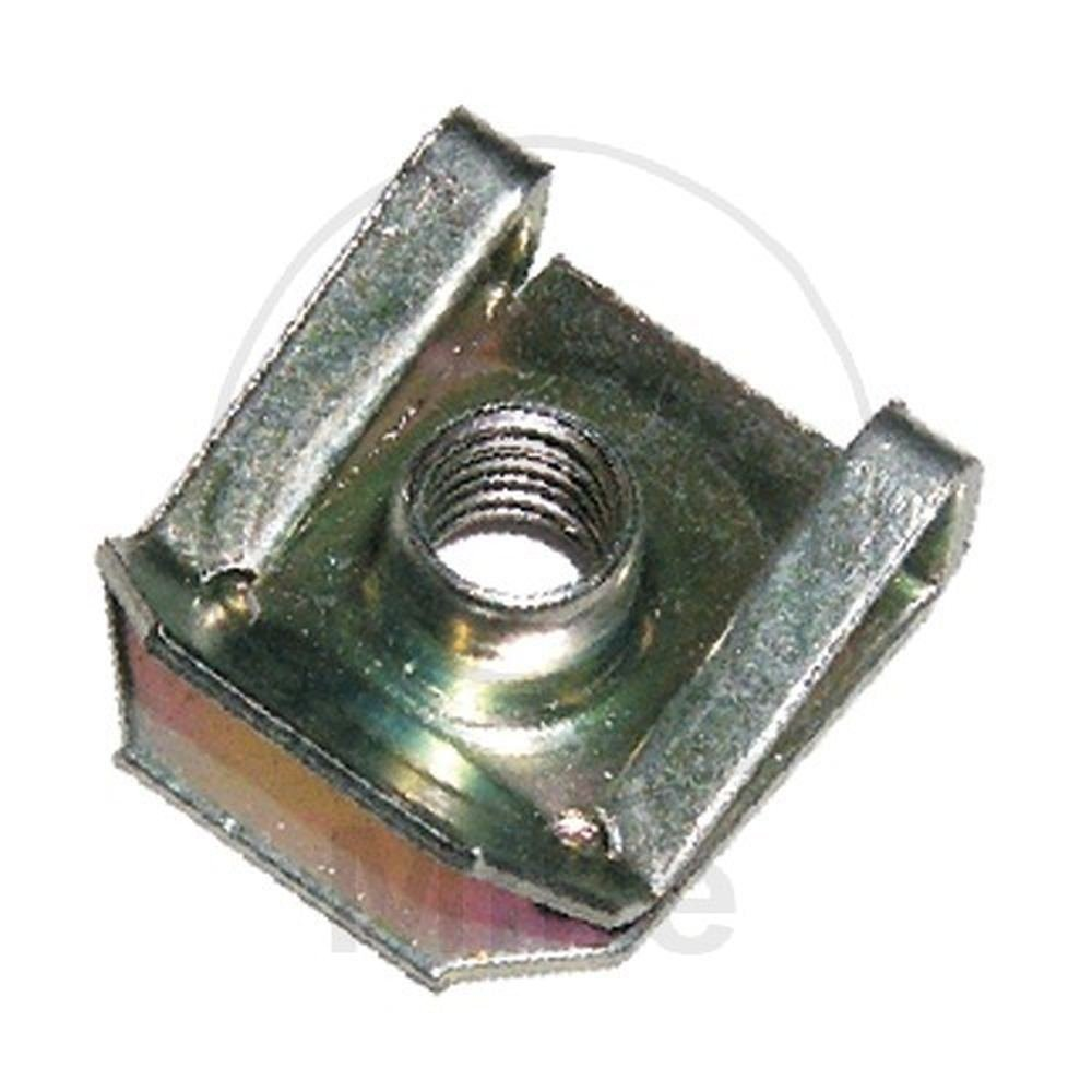 Dresselhaus 4110 Lot de 25 écrous tôle avec filetage métrique M 5 Longueur 16, 6 mm Métal galvanisé 6 mm Métal galvanisé 0/4676/001/      / 4110/     /53