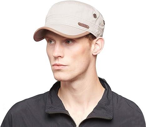 Unisex Baseball Cap for Men Retro Flat Top Caps Women Casual Sport Hat Caps Adjustable Classic Army Hats