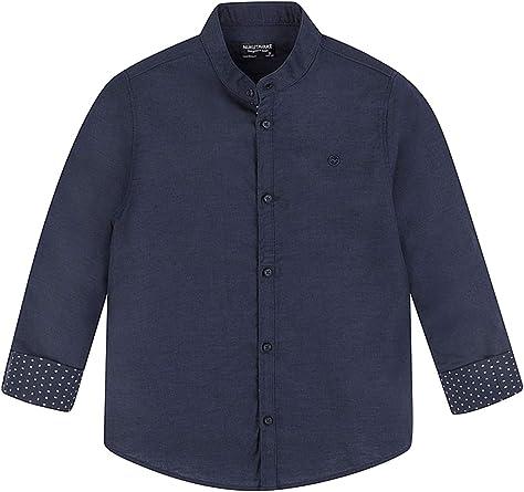 Mayoral, Camisa para niño - 6156, Azul: Amazon.es: Ropa y ...