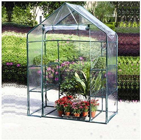 YILANJUN 庭の温室、温室、トマトハウス、植物ハウスとしての用途の広い(透明、緑、白)