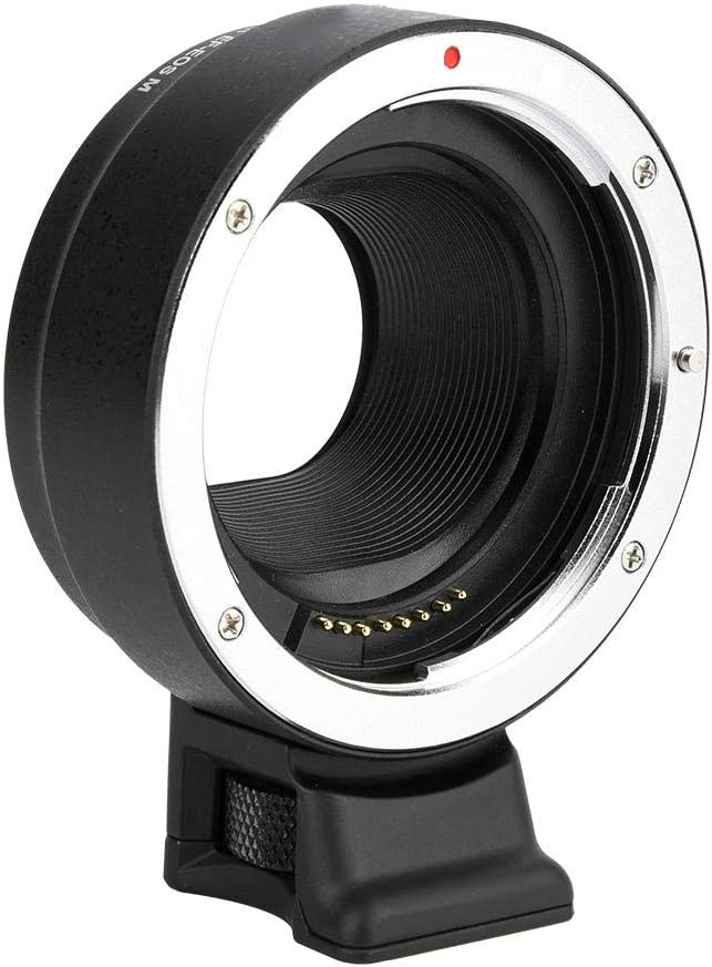 Serounder EF-EOS M Lens Adapter Ring Auto Focus Lens Converter for Canon EF EF-S Lens to Canon EOS M Mirrorless Camera