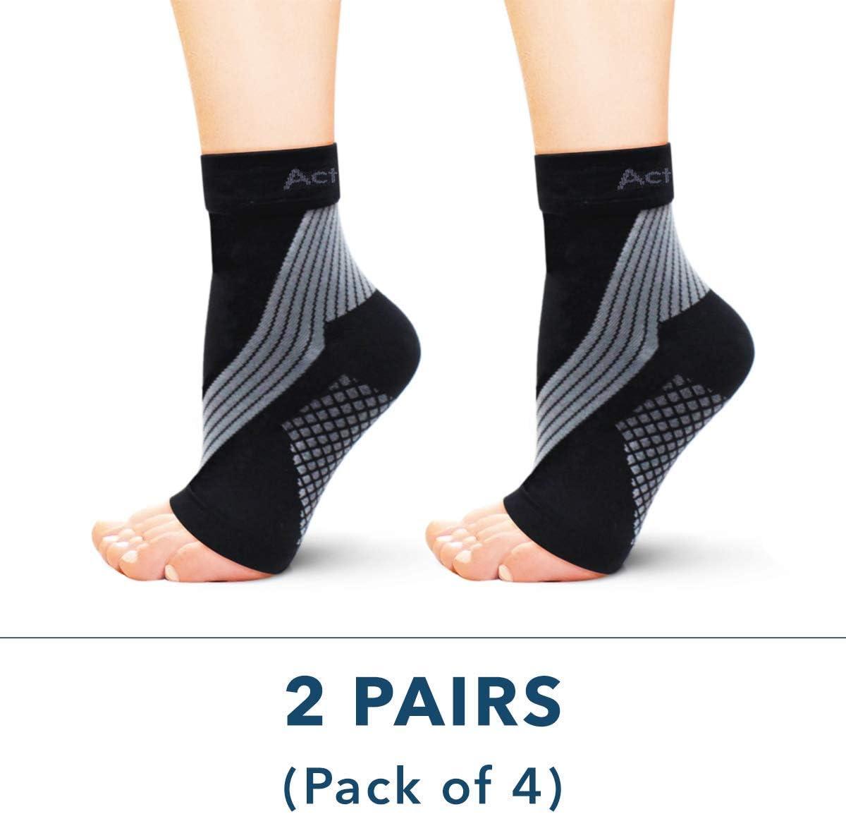 calza per dolore al piede fascia per supporto per fascite plantare Calze a compressione per fascite plantare manica alla caviglia