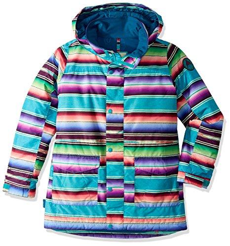 (Burton Youth Girls Echo Jacket, Mijita Stripe,)