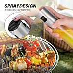 Olive Oil Sprayer for Cooking, Oil Spray Bottle Oil Dispenser Vinegar Bottle with 2 Bonus BBQ Oil Brushes for Kitchen Baking, Salad, Roasting, Frying and Barbecue Grills by MAYBEST 11