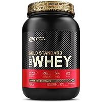 Optimum Nutrition Gold Standard 100% Whey Proteína en Polvo, Glutamina y Aminoácidos…