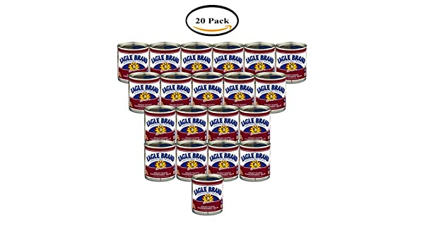 Amazon.com : PACK OF 20 - Borden Eagle Brand Sweetened Condensed Milk, 14.0 OZ : Grocery & Gourmet Food