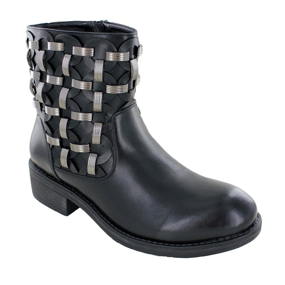 Helens Heart Ankle High Leather Boot
