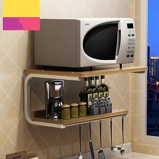 Mlzaq Microondas Horno de Carro Mobiliario de Cocina de ...