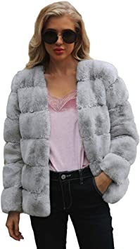 2019 Hot Sale European Women Short Coats Sheepskin Jacket Ladies Parkas Winter Faux Fur Coats