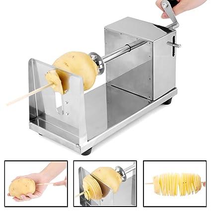 5733599 ® BBQ Barbacoa patatas espiral Cortador Pelador de verduras Patatas Twister kohlrabi espiral espiral corte