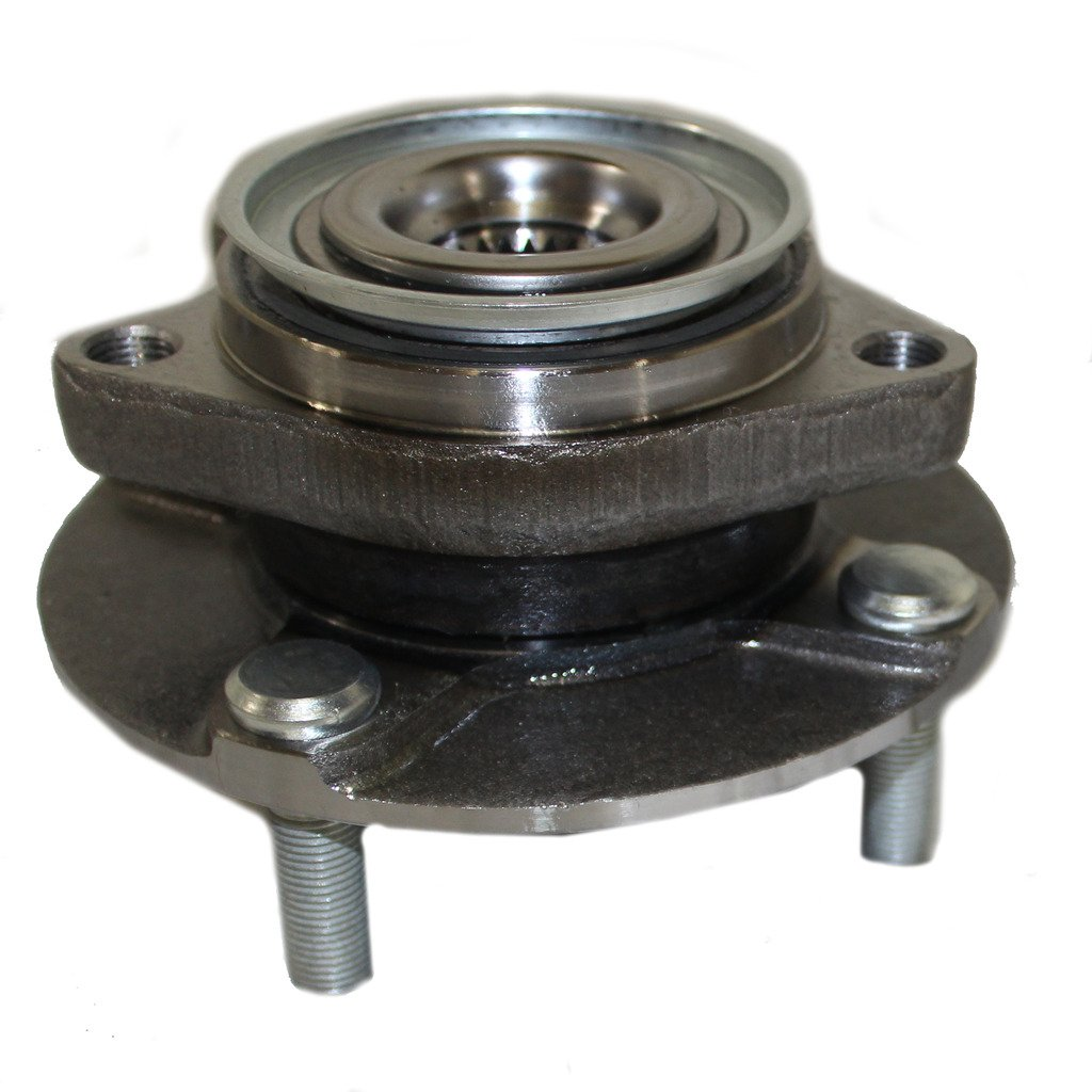 Detroit Axle - Front Wheel Bearing and Hub Assembly Driver or Passenger Side fits 2007-2011 Nissan Versa - [2012 Versa Hatchback]
