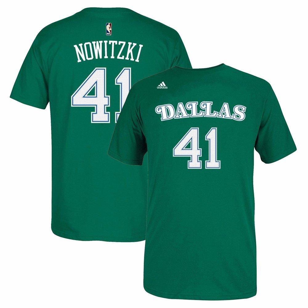 Amazon.com: Dirk Nowitzki Dallas Mavericks NBA adidas ...