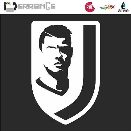 Erreinge Sticker Prespaziato Bianco 28cm Cristiano Ronaldo