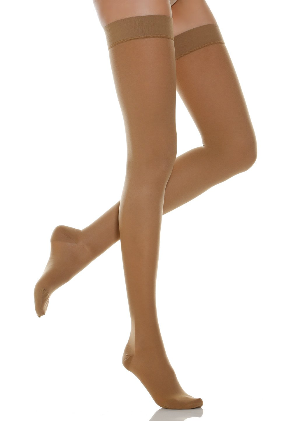 Relaxsan Basic 970 - firm support Thigh High W//Lace stockings 20-30 mmHg Calze G.T. S.r.l.