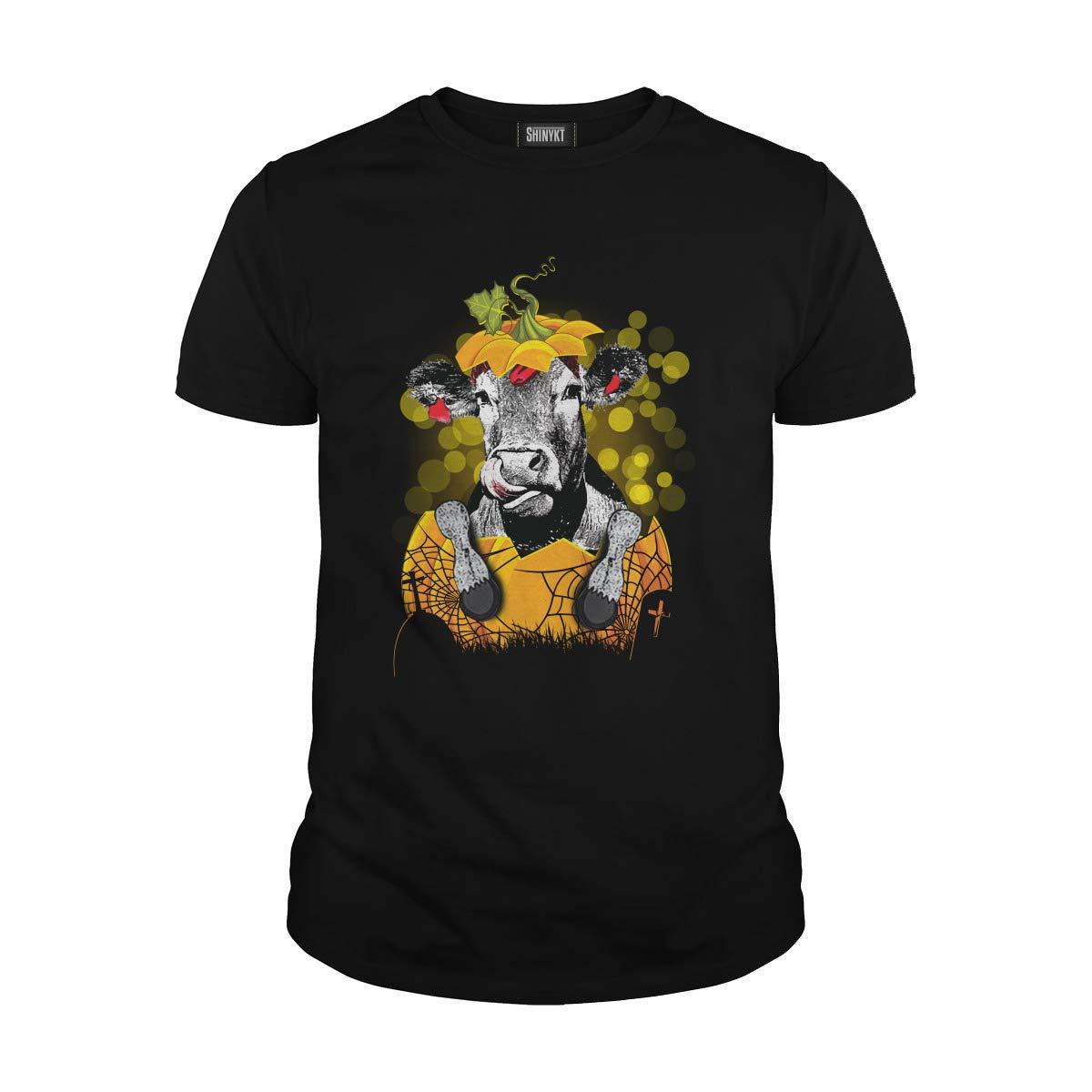Heifer Pumpkin Halloween T Shirt 6881