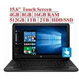 HP 2019 15.6 inch Premium Touchscreen Laptop Notebook PC, Intel 4-Core N5000 (