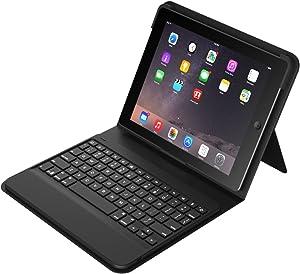 ZAGG Messenger Folio Case with Bluetooth Keyboard for iPad mini 4 - Black