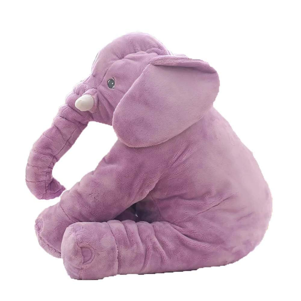BEAYPINE Baby Elephant Pillow Baby Giocattoli Peluche Regalo per Bambini Baby Cuddly Toy Animal Sleeping Cushion Kids Comfort Sleep Toy