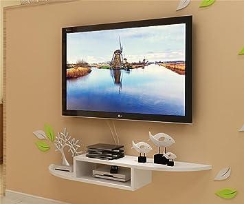 Gzd Tv Set Top Box étagère Salon étagères Murales Fond Mur Cadre